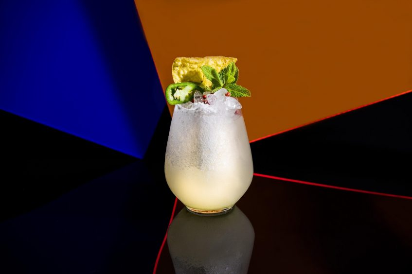W Barcelona Luxury Hotel - Barcelona, Spain - Eclipse Wasabi Punch
