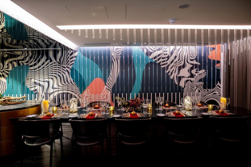 W Brisbane Luxury Hotel - Brisbane, Australia - Extreme Wow Suite Once Upon A Suite Time Dining