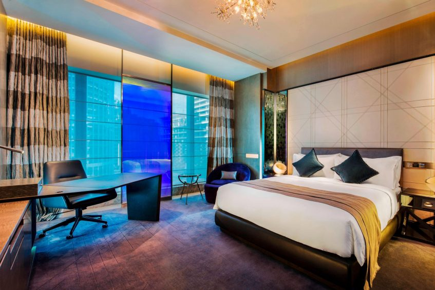 W Guangzhou Luxury Hotel - Tianhe District, Guangzhou, China - Spectacular Design Guest Room Jewel Design