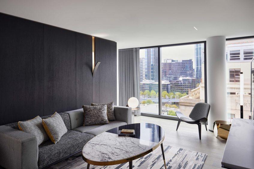 W Melbourne Luxury Hotel - Melbourne, Australia - Marvelous Suite View