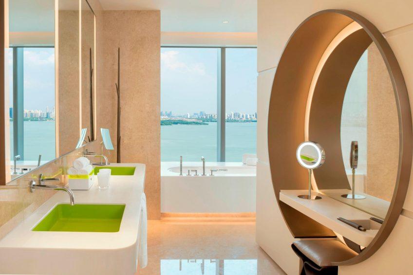 W Suzhou Luxury Hotel - Suzhou, China - Fabulous Guest Bathroom