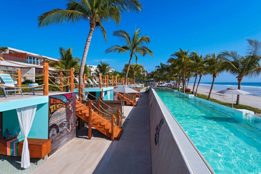 W Punta de Mita Luxury Resort - Punta De Mita, Mexico - Fabulous Haven Cabana Pool