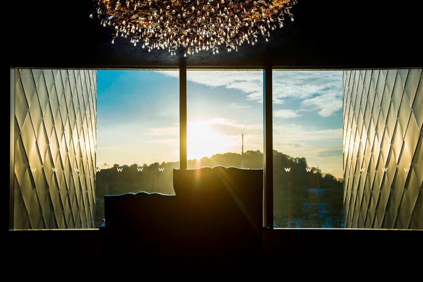 W Singapore Sentosa Cove Luxury Hotel - Singapore - Hotel Sunset