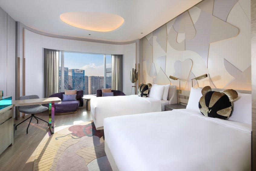 W Chengdu Luxury Hotel - Chengdu, China - Wonderful Room Double
