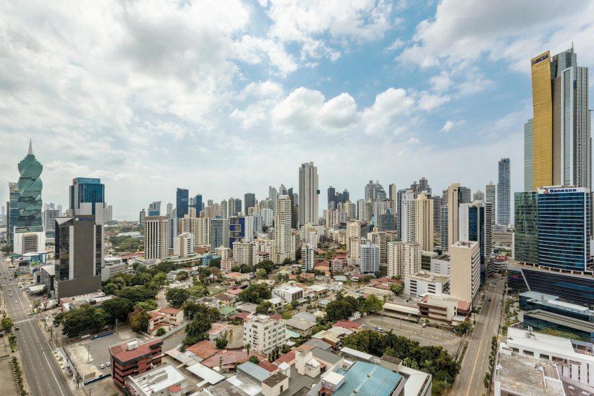 W Panama Luxury Hotel - Panama City, Panama - City View