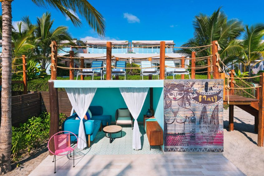 W Punta de Mita Luxury Resort - Punta De Mita, Mexico - Fabulous Haven Cabana
