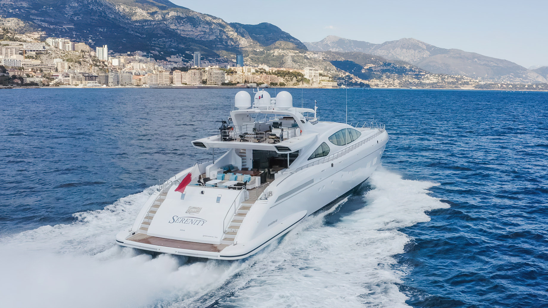 Mangusta 165 Series 49.9m Motor Yacht SERENITY