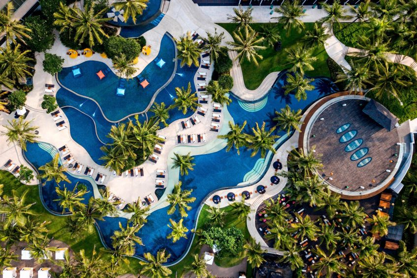 W Bali Seminyak Luxury Resort - Seminyak, Indonesia - Wet Pool