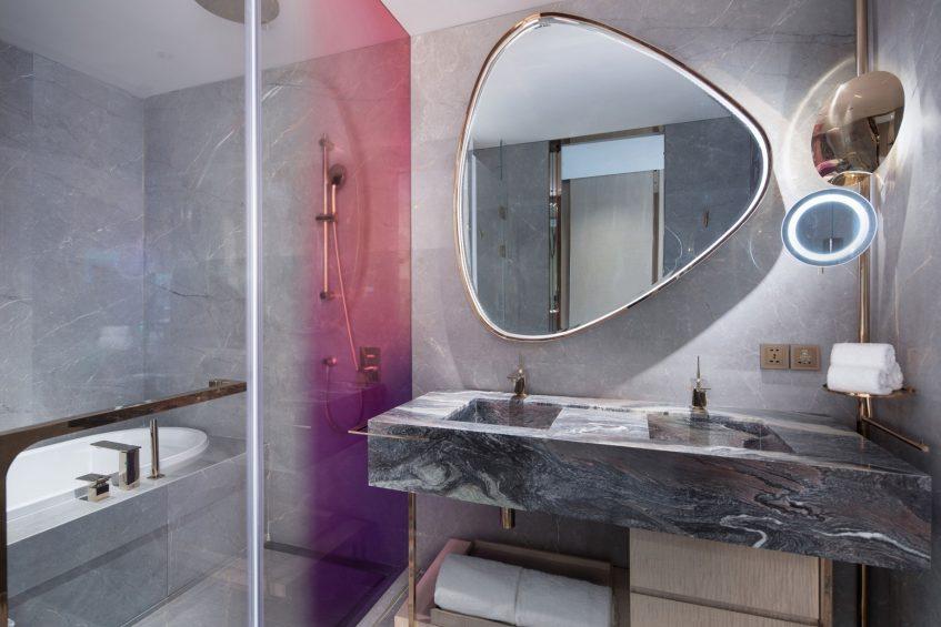W Chengdu Luxury Hotel - Chengdu, China - Wonderful Bathroom