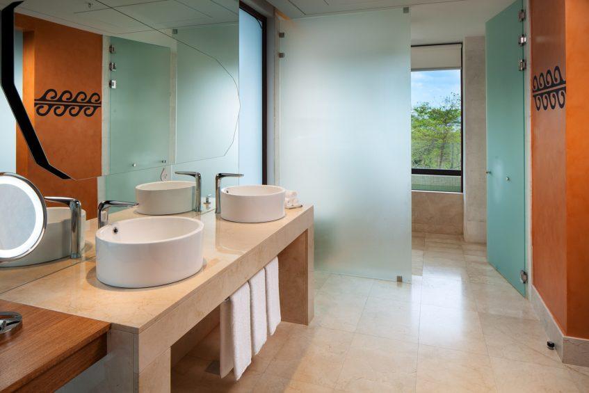 W Costa Rica Reserva Conchal Luxury Resort - Costa Rica - Cool Corner Suite Bathroom