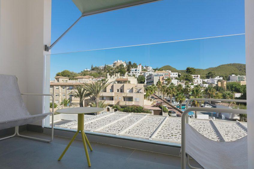 W Ibiza Luxury Hotel - Santa Eulalia del Rio, Spain - Private Terrace View