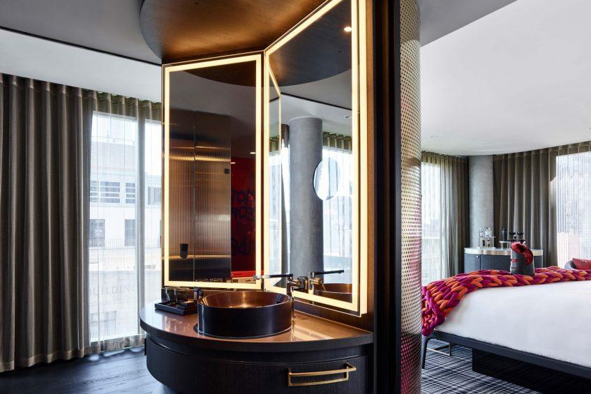 W Melbourne Luxury Hotel - Melbourne, Australia - Mega Room Bathroom