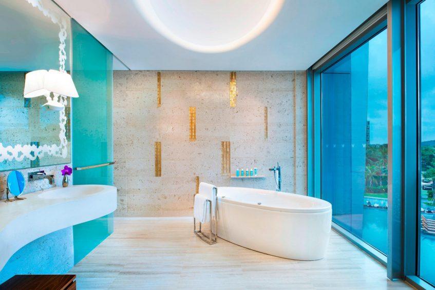 W Singapore Sentosa Cove Luxury Hotel - Singapore - Marvelous Suite Bathroom