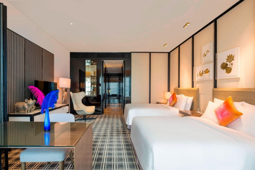 W Guangzhou Luxury Hotel - Tianhe District, Guangzhou, China - Twin Guest Room