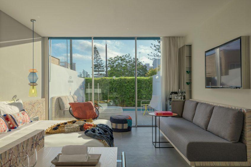 W Ibiza Luxury Hotel - Santa Eulalia del Rio, Spain - Spectacular King Room with Private Pool