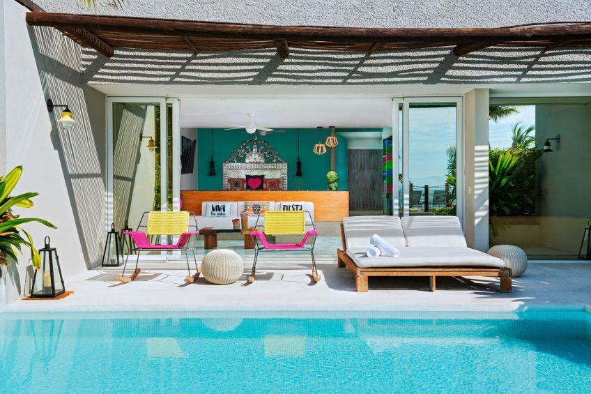 W Punta de Mita Luxury Resort - Punta De Mita, Mexico - Ocean Front Haven Suite Plunge Pool