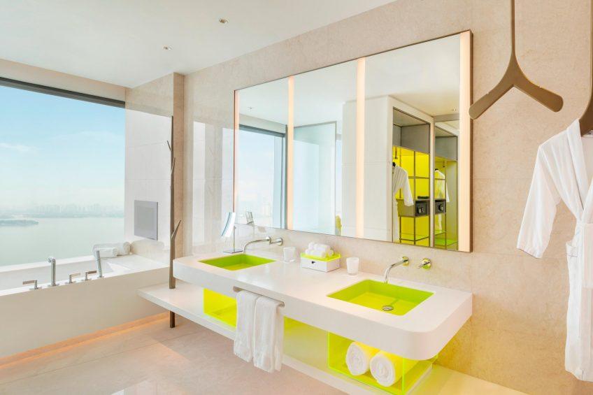 W Suzhou Luxury Hotel - Suzhou, China - Fantastic Suite Bathroom