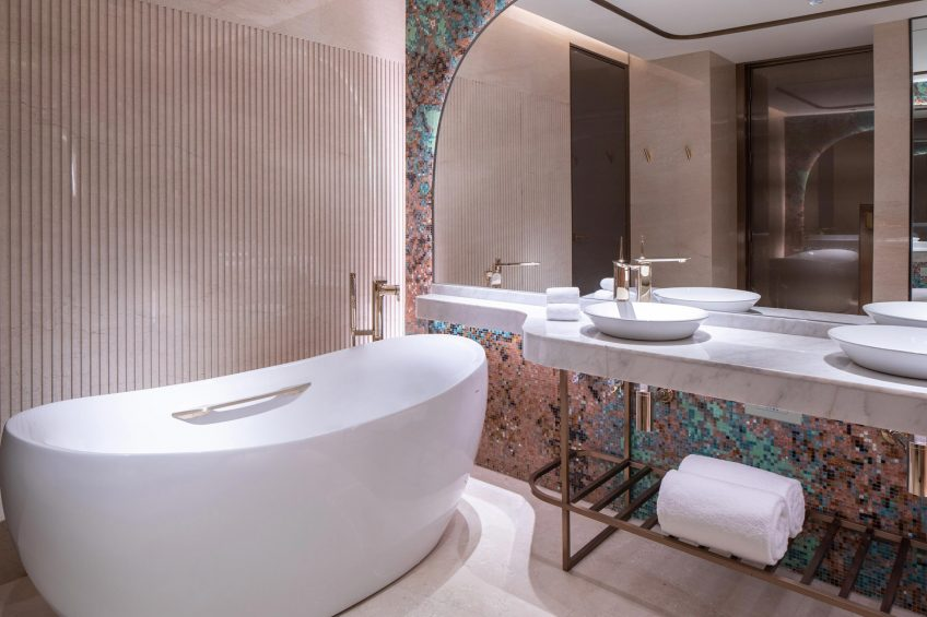 W Chengdu Luxury Hotel - Chengdu, China - WOW Suite Bathroom