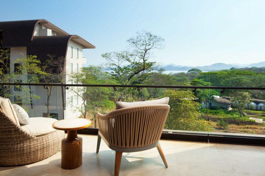 W Costa Rica Reserva Conchal Luxury Resort - Costa Rica - Cool Corner Suite Balcony View