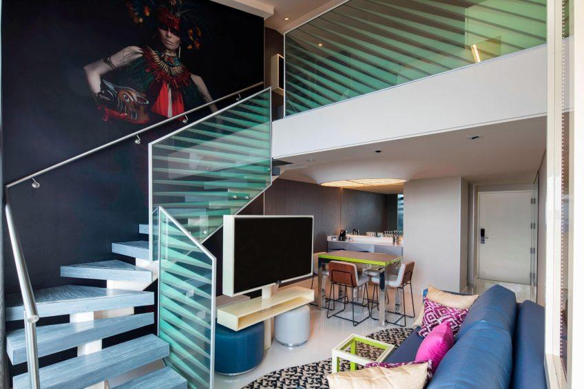 W Mexico City Luxury Hotel - Polanco, Mexico City, Mexico - Marvelous Suite Living Room