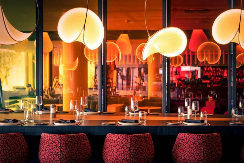 W Barcelona Luxury Hotel - Barcelona, Spain - FIRE Seating