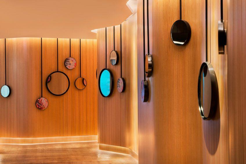 W Brisbane Luxury Hotel - Brisbane, Australia - AWAY Spa Artwork