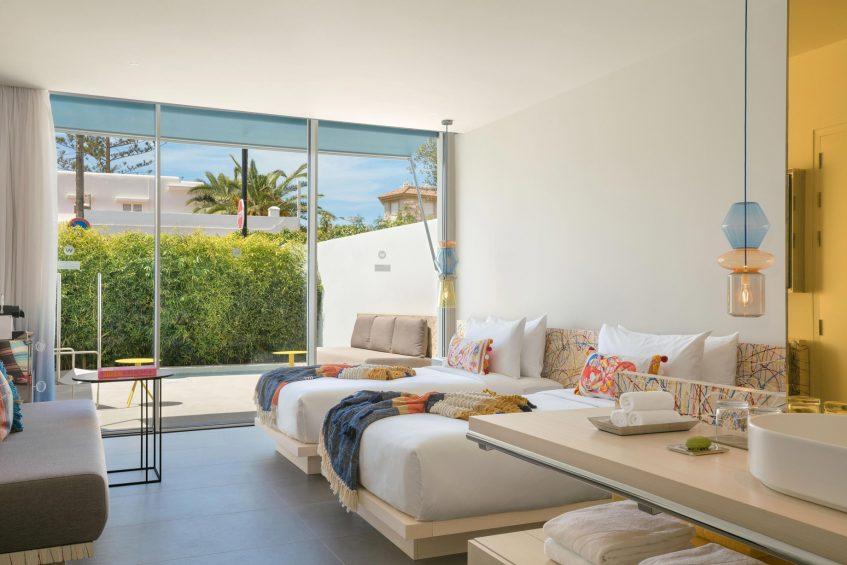 W Ibiza Luxury Hotel - Santa Eulalia del Rio, Spain - Spectacular Twin Guest Room