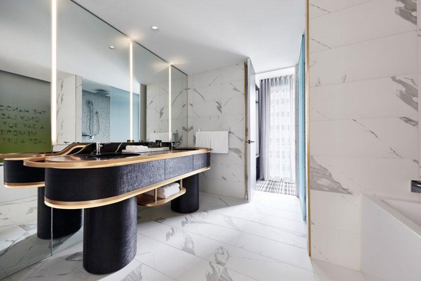 W Melbourne Luxury Hotel - Melbourne, Australia - Spectacular Studio Bathroom