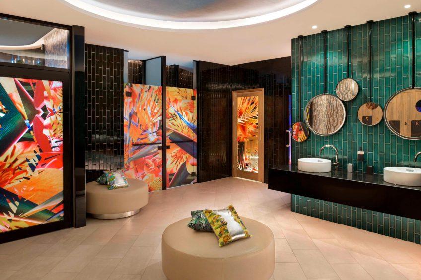 W Brisbane Luxury Hotel - Brisbane, Australia - Away Spa Decor