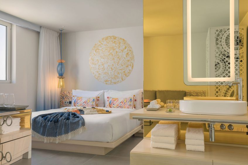 W Ibiza Luxury Hotel - Santa Eulalia del Rio, Spain - Wonderful King Guest Room Decor