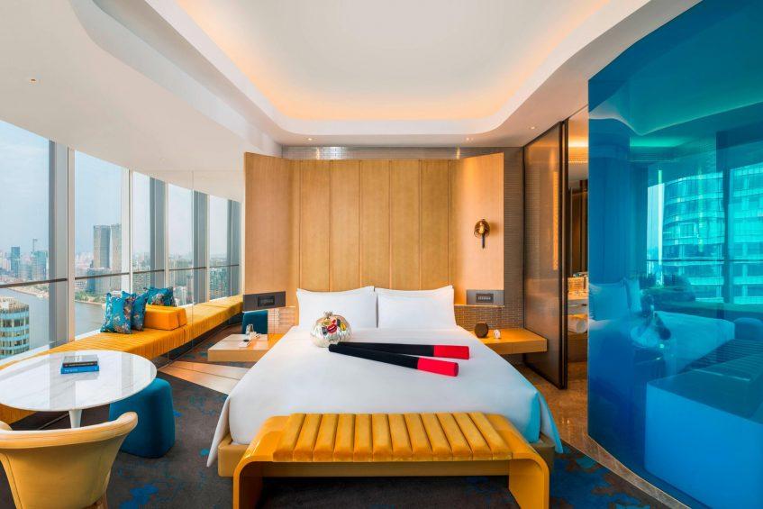 W Shanghai The Bund Luxury Hotel - Shanghai, China - Wonderful Guest Room
