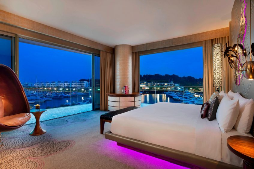 W Singapore Sentosa Cove Luxury Hotel - Singapore - Marvelous Suite Bedroom