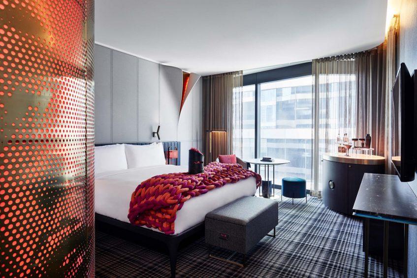 W Melbourne Luxury Hotel - Melbourne, Australia - Wonderful King Room View
