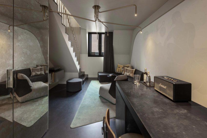 W Amsterdam Luxury Hotel - Amsterdam, Netherlands - Marvelous Bank One Bedroom Bi Level Loft Decor