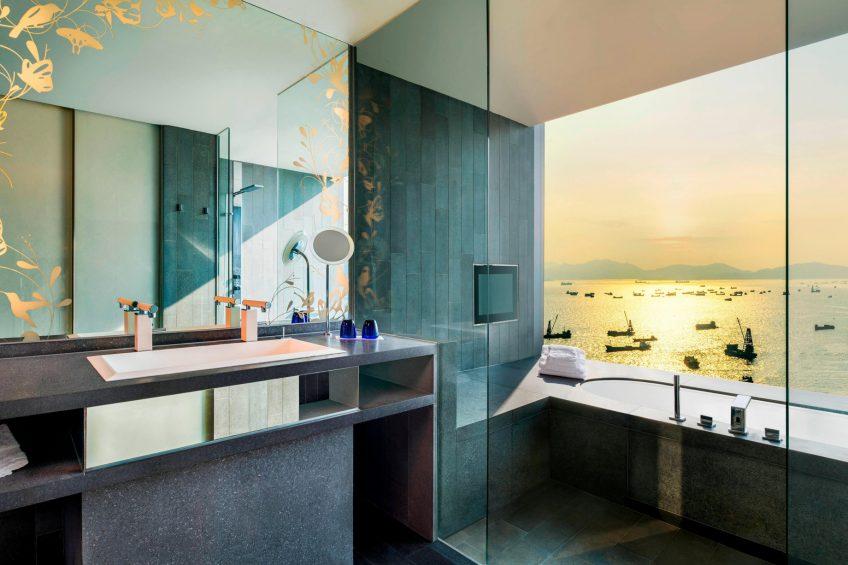 W Hong Kong Luxury Hotel - Hong Kong - Marvelous Suite Bathroom View