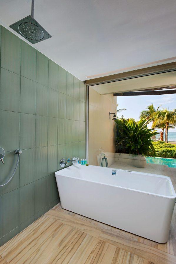 W Punta de Mita Luxury Resort - Punta De Mita, Mexico - Ocean Front Haven Guest Bathroom Tub