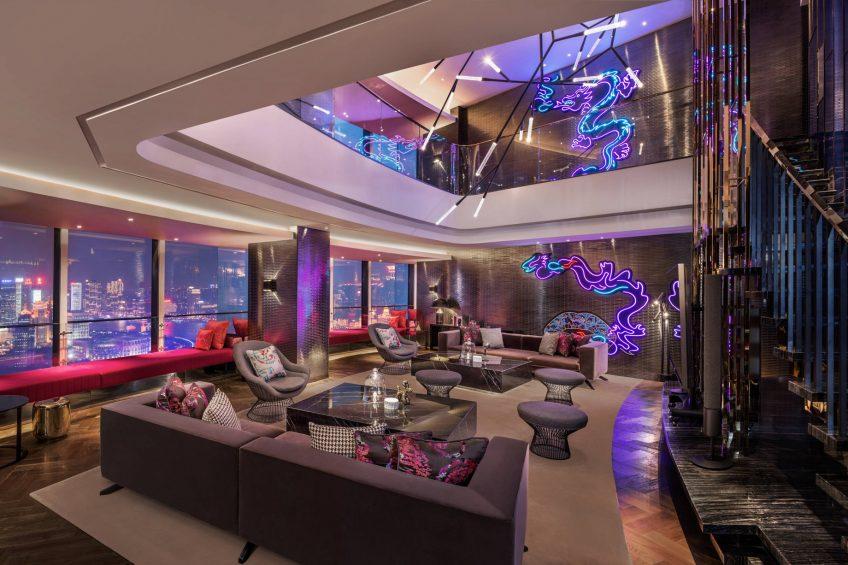 W Shanghai The Bund Luxury Hotel - Shanghai, China - Extreme Wow Suite
