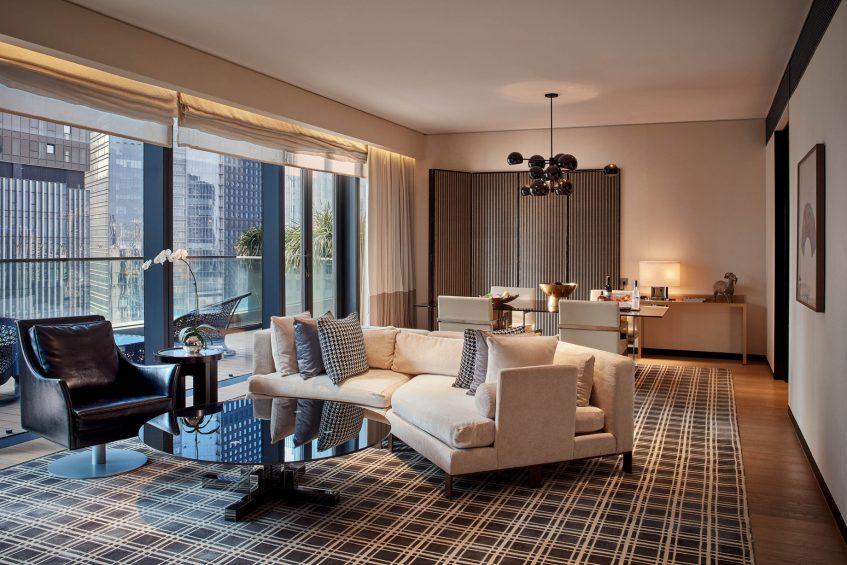 W Guangzhou Luxury Hotel - Tianhe District, Guangzhou, China - WOW Suite Living Room