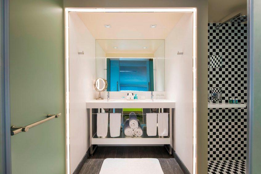 W Mexico City Luxury Hotel - Polanco, Mexico City, Mexico - Suite Bathroom Walk In Shower