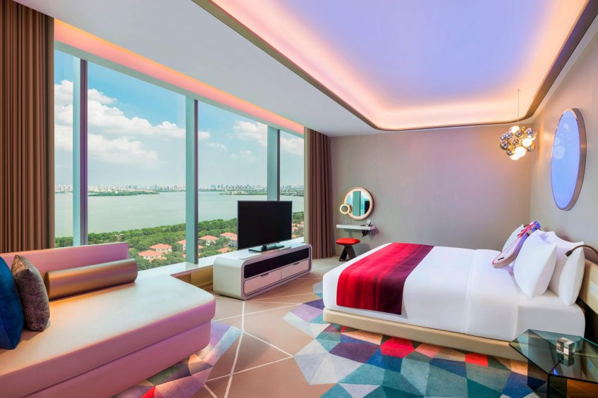 W Suzhou Luxury Hotel - Suzhou, China - Mega Guest Room