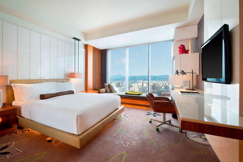 W Taipei Luxury Hotel - Taipei, Taiwan - Fabulous King Guest Bedroom
