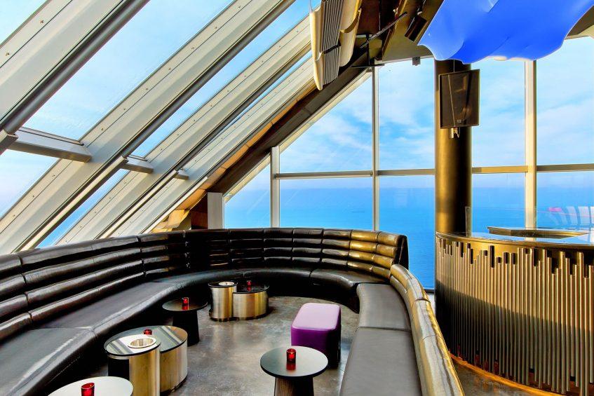 W Barcelona Luxury Hotel - Barcelona, Spain - Eclipse Seating