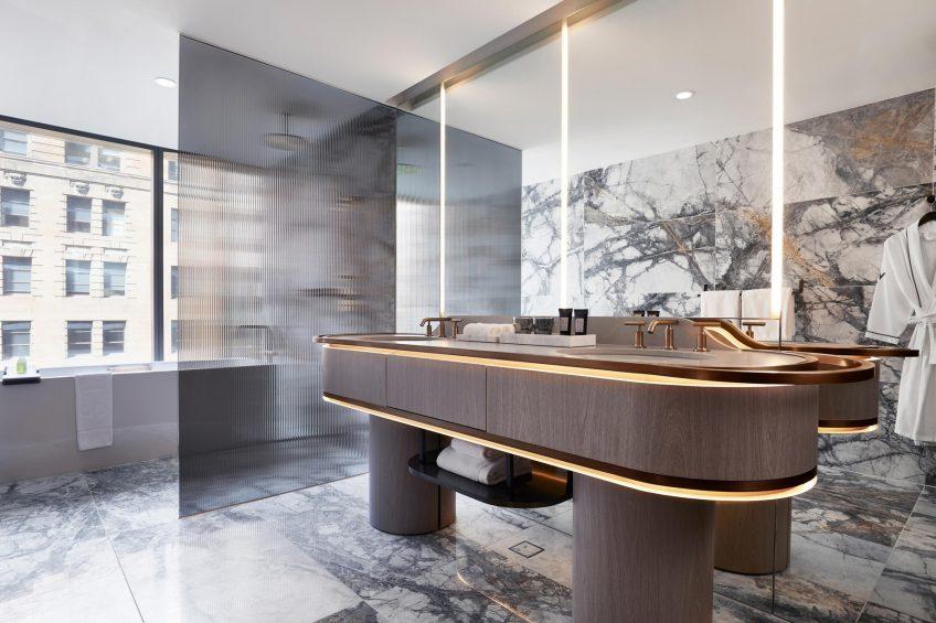 W Melbourne Luxury Hotel - Melbourne, Australia - Wow Suite Bathroom