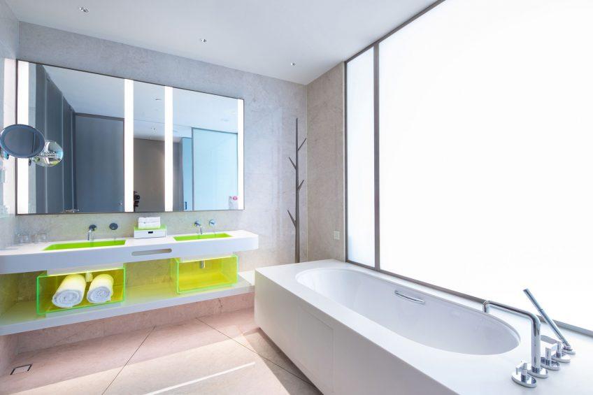 W Suzhou Luxury Hotel - Suzhou, China - Sensational King Bathroom