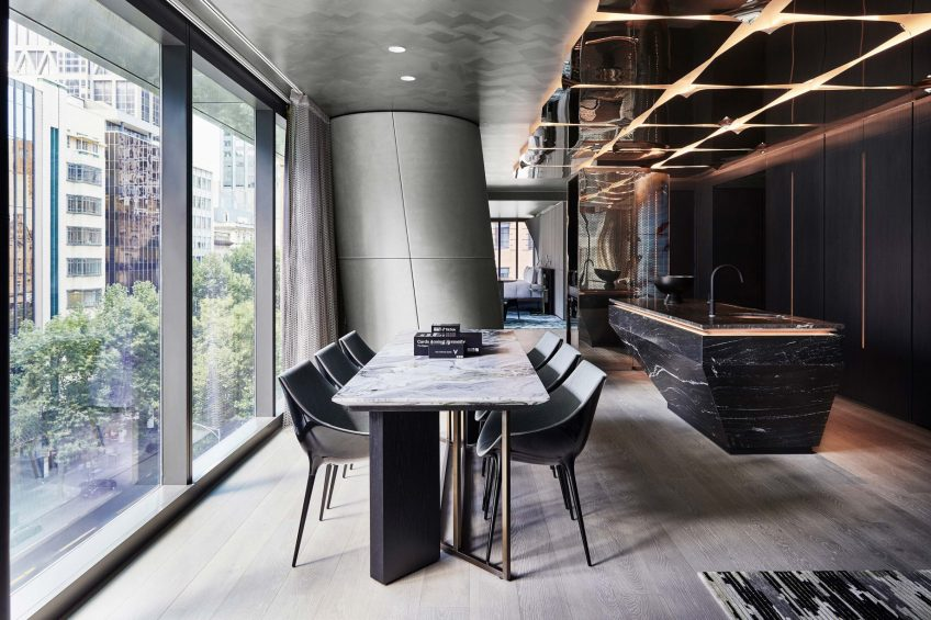 W Melbourne Luxury Hotel - Melbourne, Australia - Wow Suite Dining Area