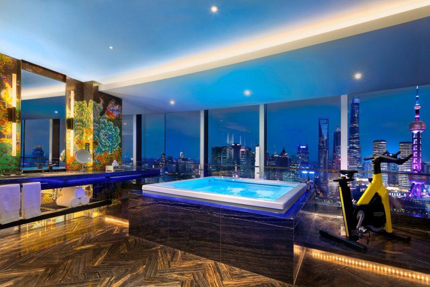 W Shanghai The Bund Luxury Hotel - Shanghai, China - WOW Suite Bathroom
