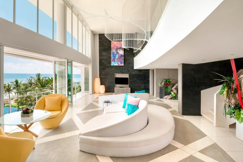 W Bali Seminyak Luxury Resort - Seminyak, Indonesia - Extreme WOW Suite Living Room