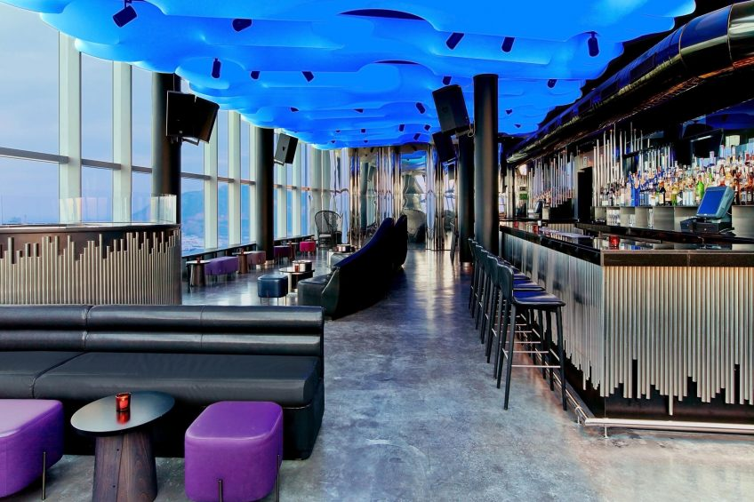 W Barcelona Luxury Hotel - Barcelona, Spain - Eclipse Bar