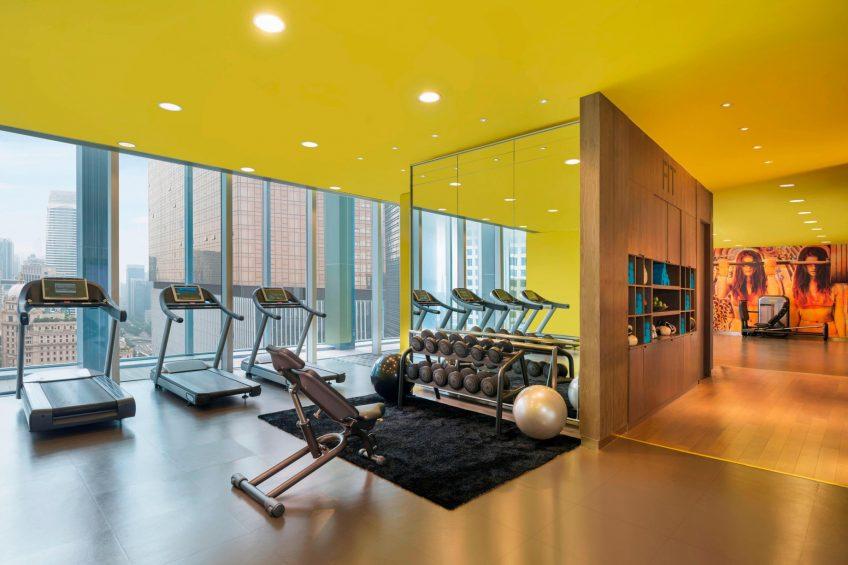 W Guangzhou Luxury Hotel - Tianhe District, Guangzhou, China - FIT Gym
