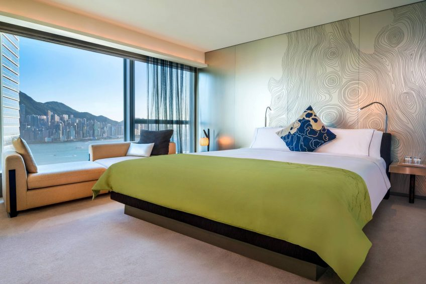 W Hong Kong Luxury Hotel - Hong Kong - Spectacular King Room